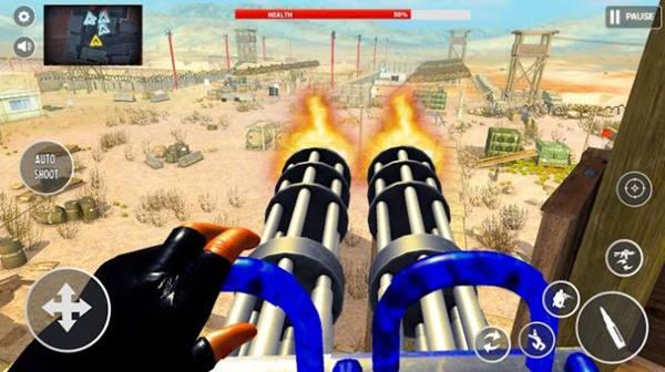 火炮发射新模拟枪手机版