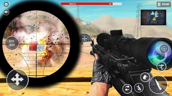 火炮发射新模拟枪手机版最新版