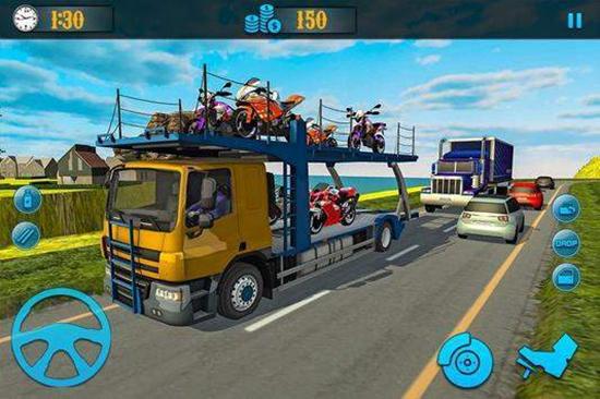 运输车大卡车游戏最新版