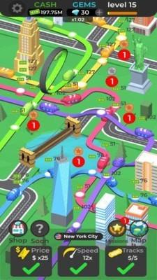 闲置地铁3D中文版