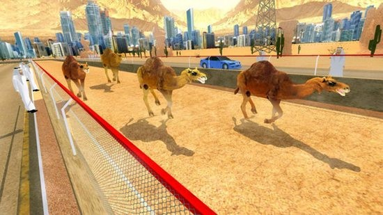 骆驼跑酷模拟器游戏下载