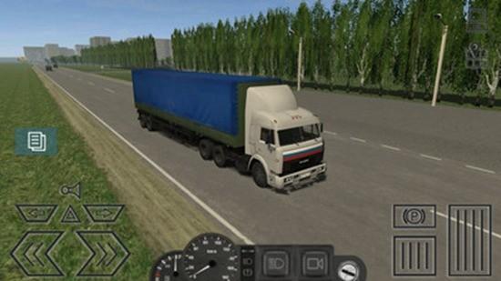 小货车运输模拟破解版