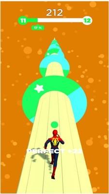 超级英雄彩色跑酷手机版