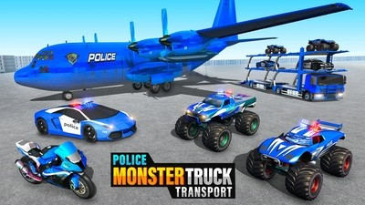 警察巨型卡车运输安卓版