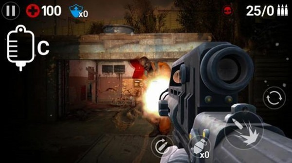 枪机射击僵尸正式版