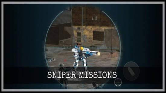 机器人突击战场游戏