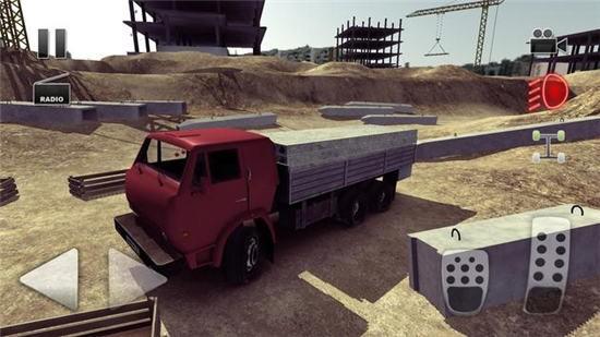 卡车司机疯狂道路2游戏
