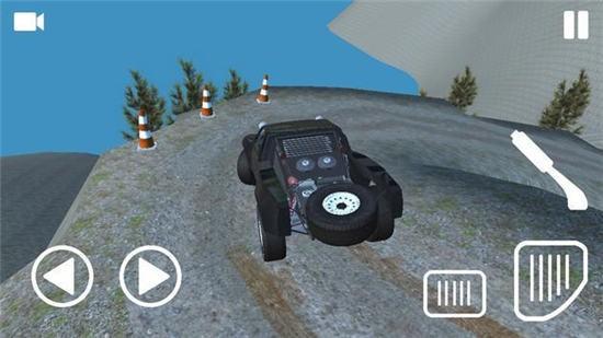 爬山越野驾驶4×4游戏