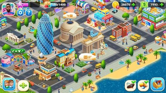 农场城市游戏