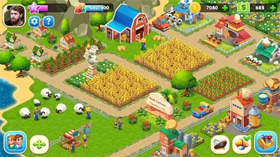 农场城市游戏破解版