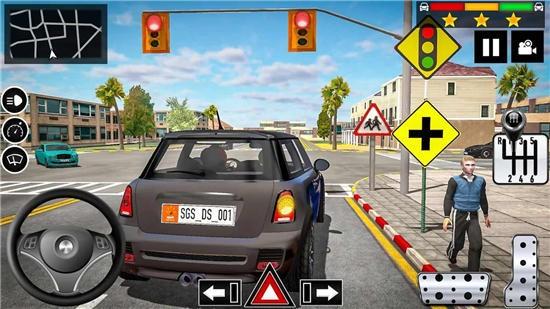 汽车驾驶学校模拟器破解版下载
