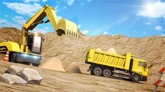 推土挖掘机模拟器破解版下载