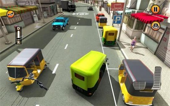 人力车停车模拟内购版