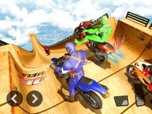 特技摩托车超级英雄手机版