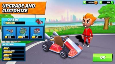 竞速卡丁车赛车游戏官方版中文版