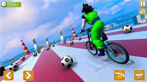 超级英雄BMX自行车赛中文版苹果版