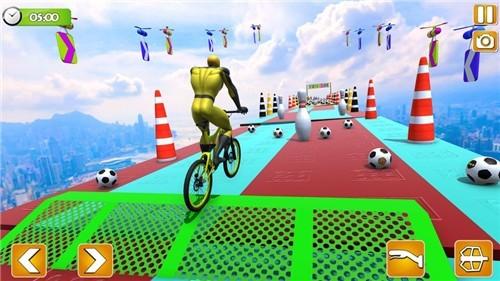 超级英雄BMX自行车赛苹果版