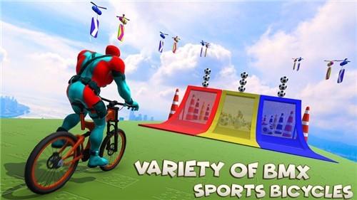 超级英雄BMX自行车赛中文版