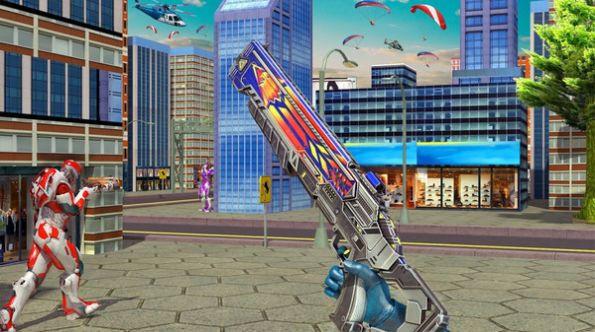 机器人枪火重生游戏