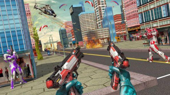 机器人枪火重生游戏破解版