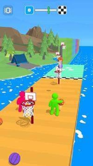 篮球小人比赛3d游戏