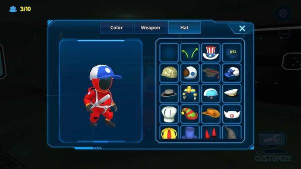 太空狼人3d游戏手机版