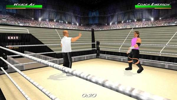 摔角革命3d中文版
