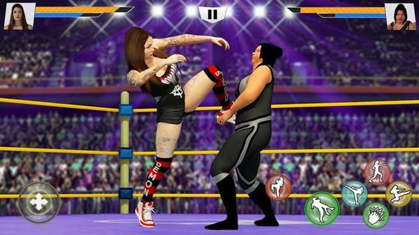 坏女孩摔跤破解版