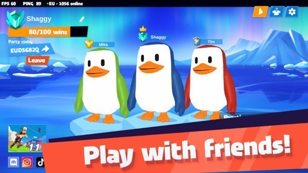 企鹅疯狂淘汰赛中文版下载