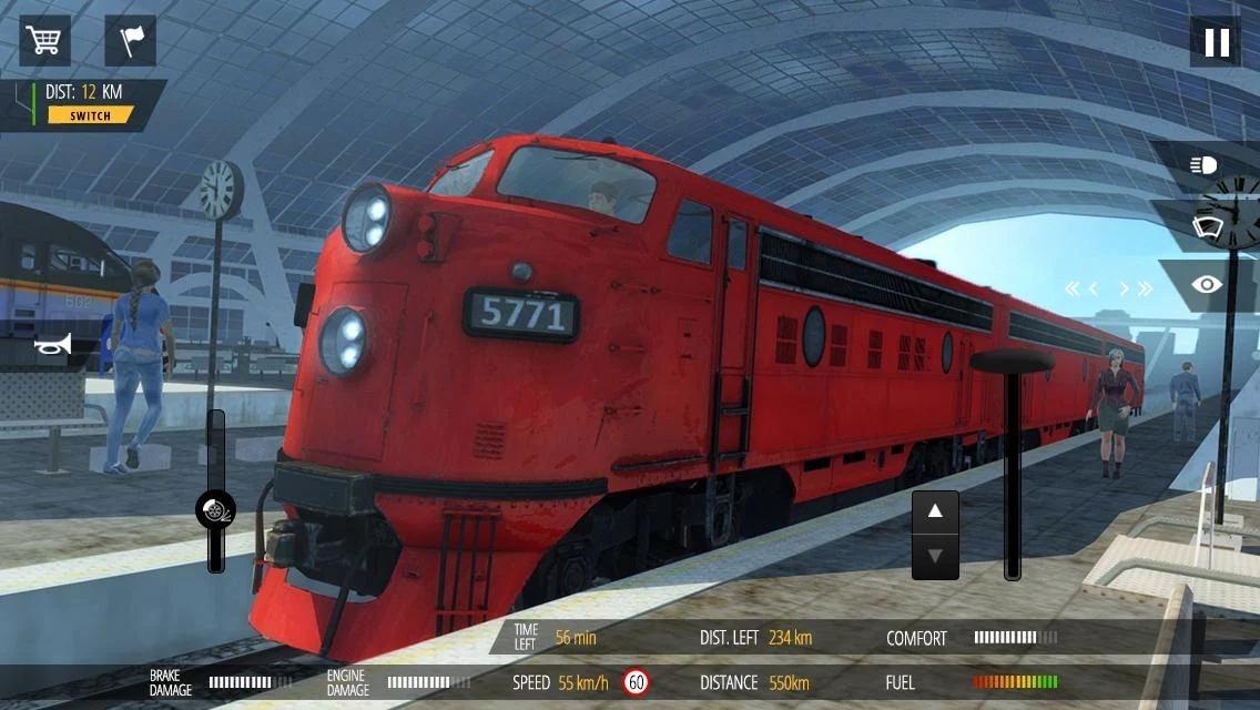 火车模拟器PRO2018汉化安卓版下载
