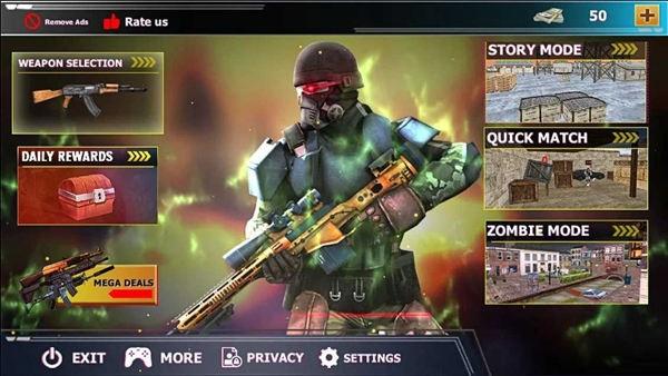 狙击游戏免费破解版