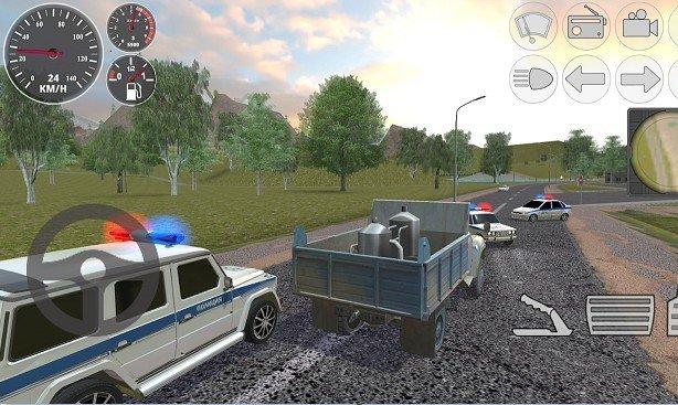 硬卡车模拟器破解版