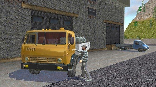 硬卡车模拟器中文版