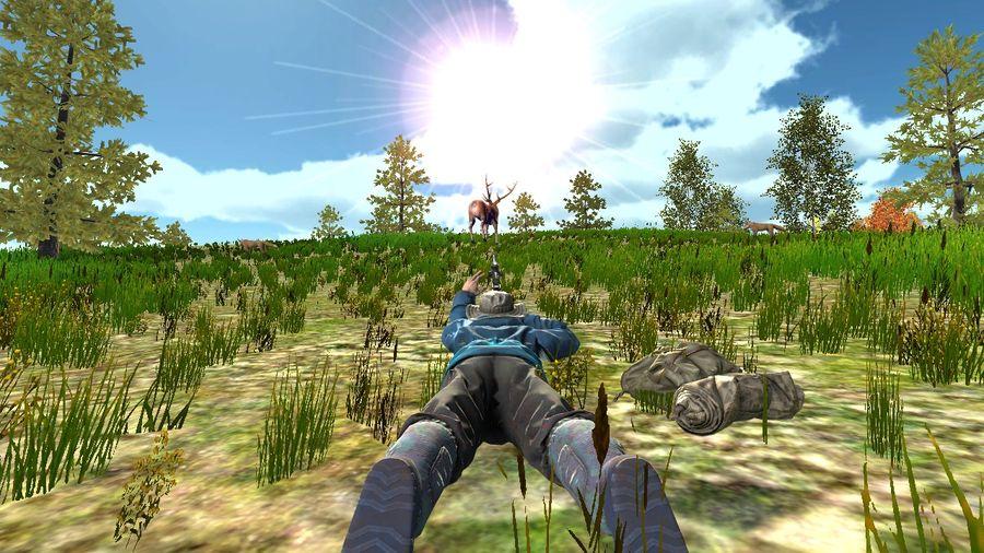 猎人模拟器绿色版