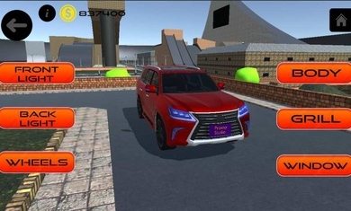 雷克萨斯驾驶模拟器游戏