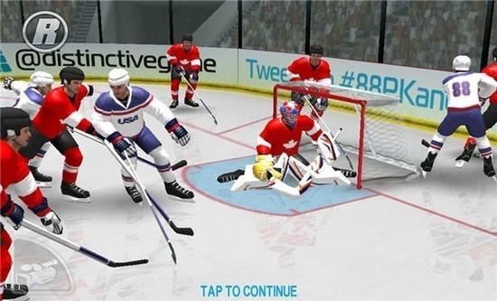 冰球冬奥会游戏