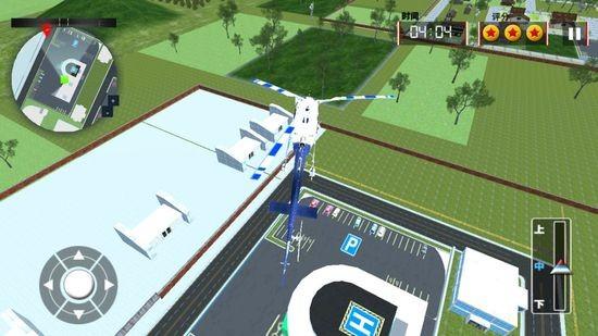 模拟直升机救援1