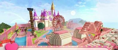 女孩主题公园世界游戏