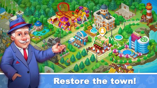 城镇爆炸城市修复3
