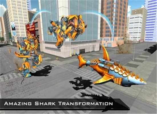 改造机器人鲨鱼3