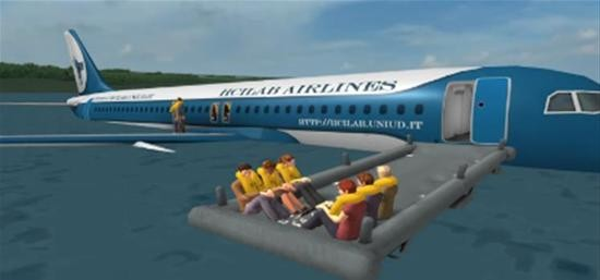 模拟飞机失事1