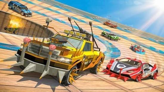 车祸赛车模拟器游戏