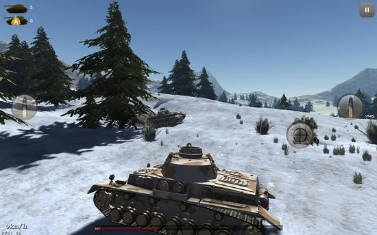 古代坦克战1