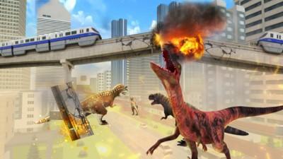 恐龙毁灭城市1