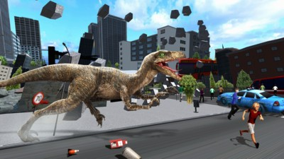 恐龙毁灭城市3