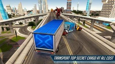 重型卡车机器人英雄1