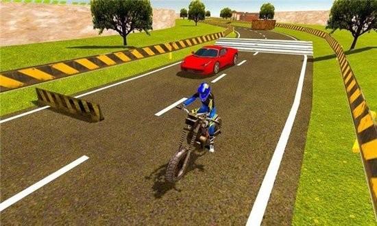 摩托车对决赛车3