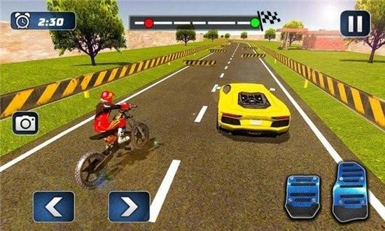 摩托车对决赛车2