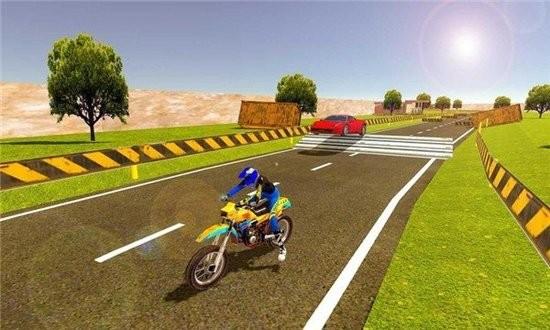 摩托车对决赛车1