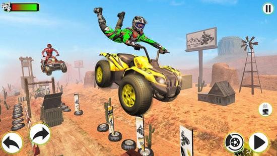 摩托车特技赛车跑酷3